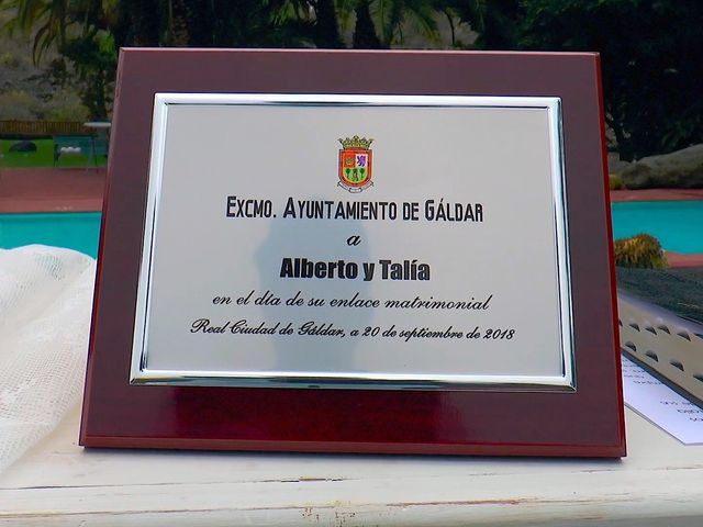 La boda de Alberto y Talía en Galdar, Las Palmas 24