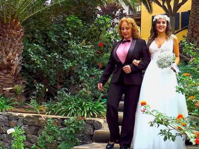 La boda de Alberto y Talía en Galdar, Las Palmas 29