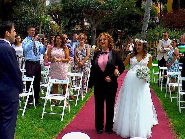 La boda de Alberto y Talía en Galdar, Las Palmas 31