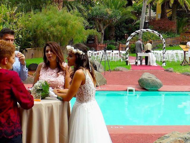 La boda de Alberto y Talía en Galdar, Las Palmas 56