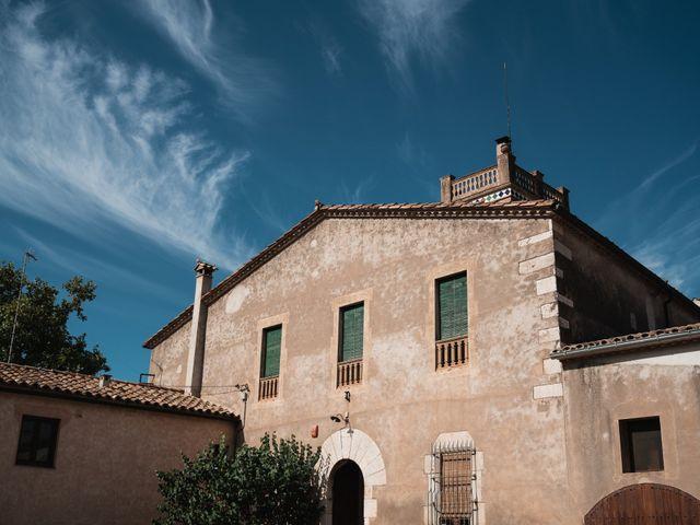La boda de Adrian y Agathe en Bascara, Girona 3
