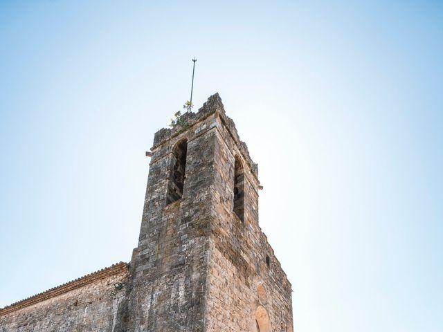 La boda de Adrian y Agathe en Bascara, Girona 24