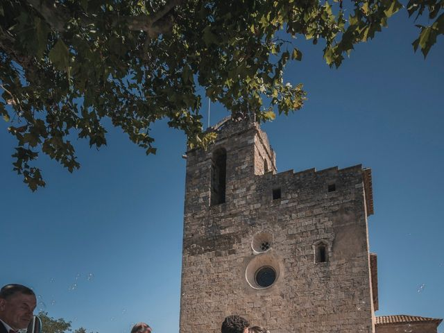 La boda de Adrian y Agathe en Bascara, Girona 37