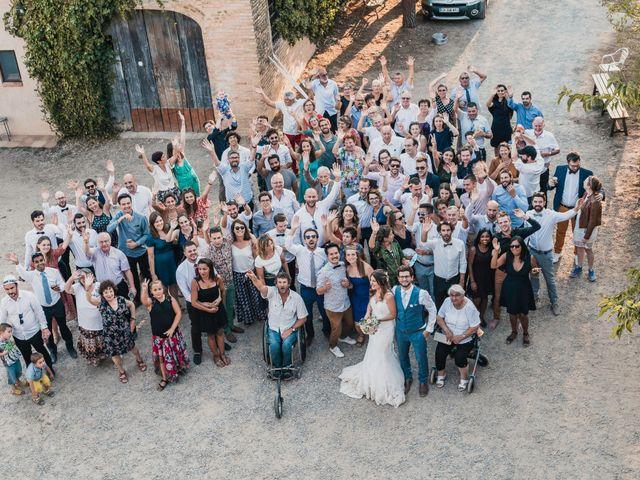 La boda de Adrian y Agathe en Bascara, Girona 64
