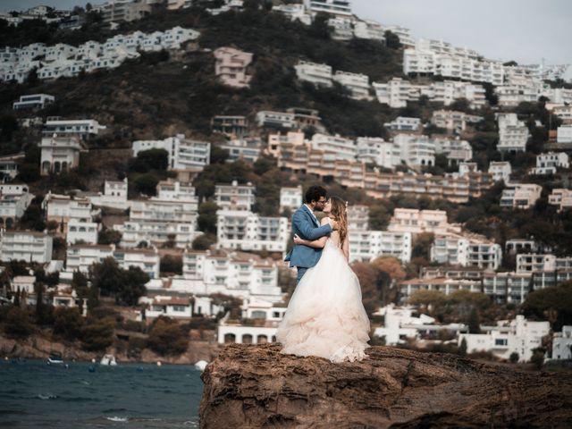 La boda de Adrian y Agathe en Bascara, Girona 74
