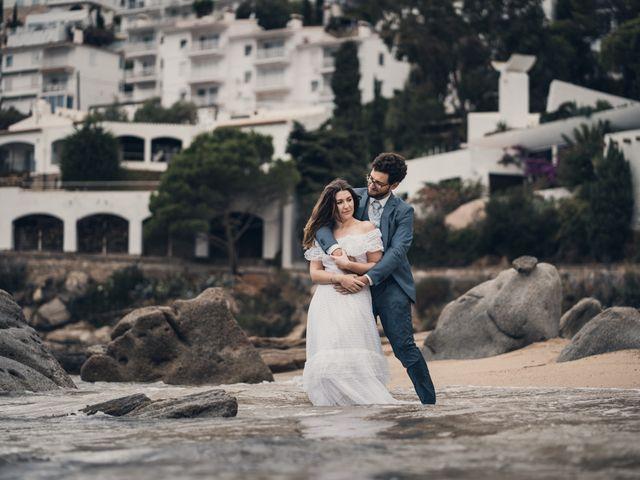 La boda de Adrian y Agathe en Bascara, Girona 83