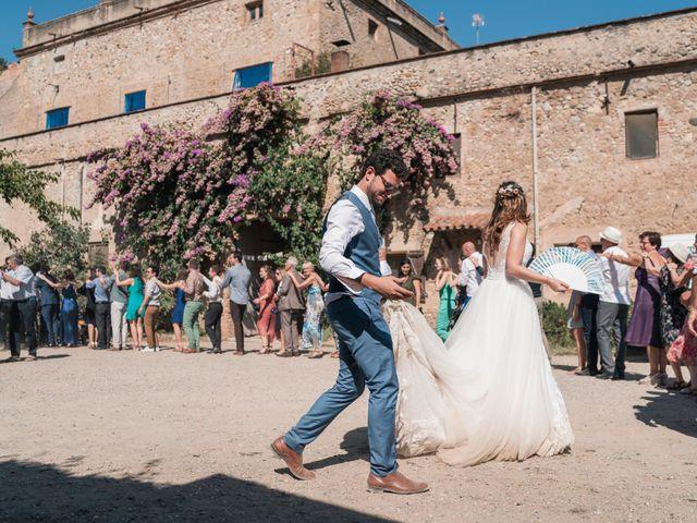 La boda de Adrian y Agathe en Bascara, Girona 84