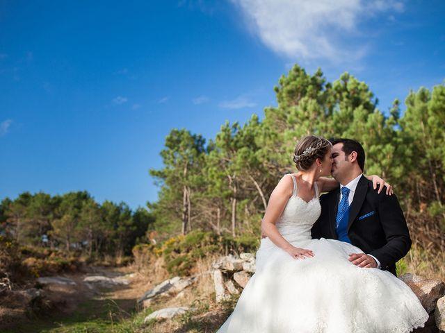 La boda de Bruno y Mónica en Santeles, Pontevedra 13