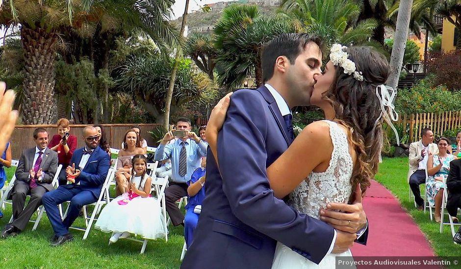 La boda de Alberto y Talía en Galdar, Las Palmas