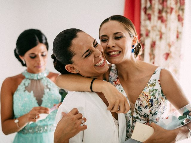 La boda de Ángel y Elena en Los Santos De Maimona, Badajoz 12
