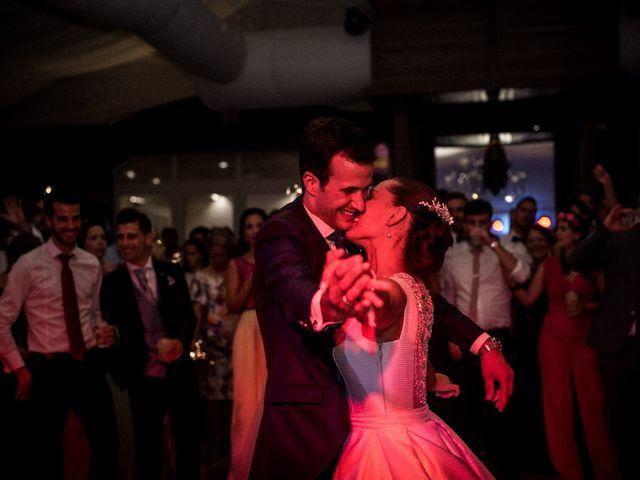 La boda de Ángel y Elena en Los Santos De Maimona, Badajoz 39