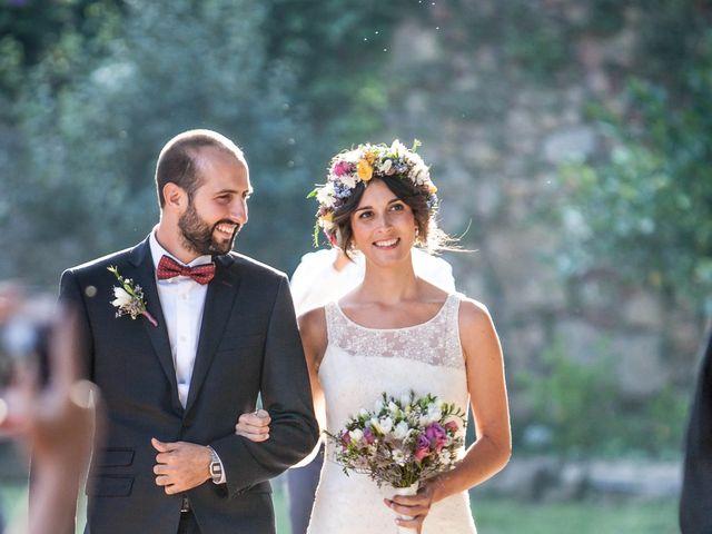 La boda de Marco y Laura en Argentona, Barcelona 1