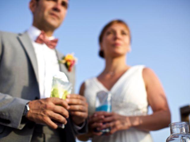 La boda de Fran y Laura en Tabarca, Alicante 27