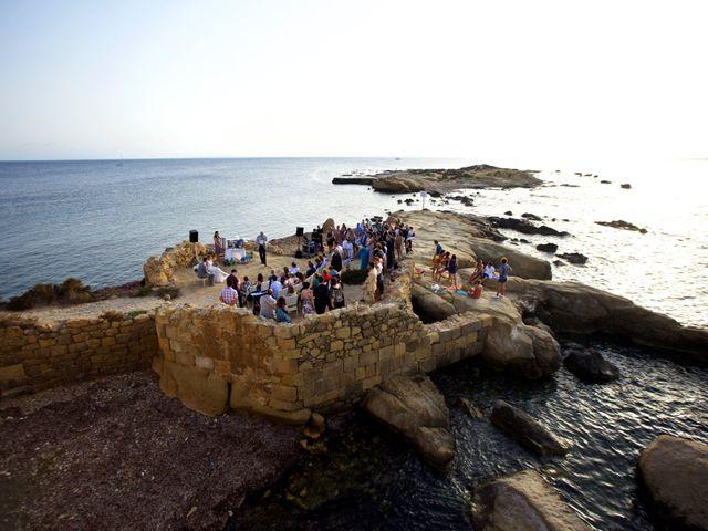 La boda de Fran y Laura en Tabarca, Alicante 29