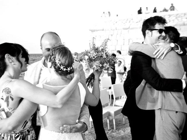 La boda de Fran y Laura en Tabarca, Alicante 34