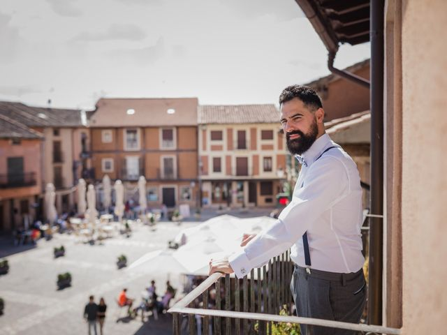 La boda de Alberto y Laura en Ayllon, Segovia 22