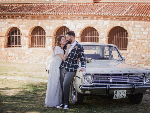 La boda de Alberto y Laura en Ayllon, Segovia 86