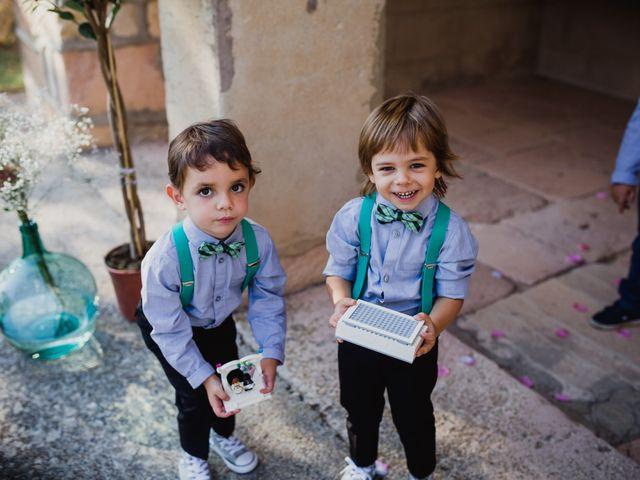 La boda de Alberto y Laura en Ayllon, Segovia 97