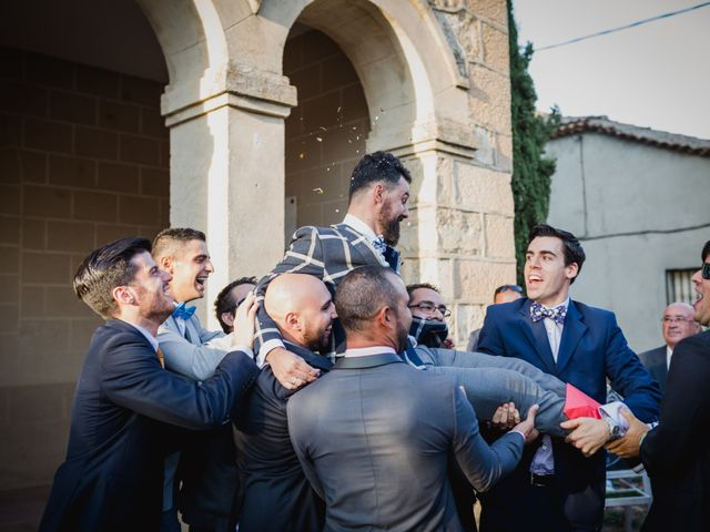 La boda de Alberto y Laura en Ayllon, Segovia 117