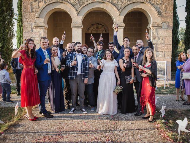 La boda de Alberto y Laura en Ayllon, Segovia 121