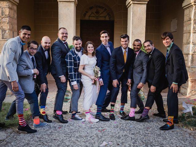 La boda de Alberto y Laura en Ayllon, Segovia 123