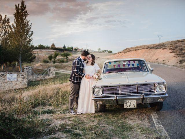 La boda de Alberto y Laura en Ayllon, Segovia 133