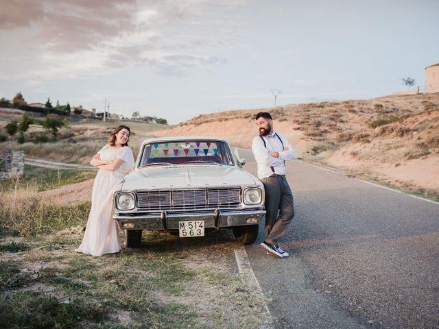La boda de Alberto y Laura en Ayllon, Segovia 1