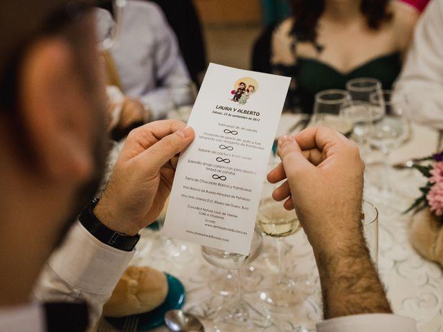 La boda de Alberto y Laura en Ayllon, Segovia 149