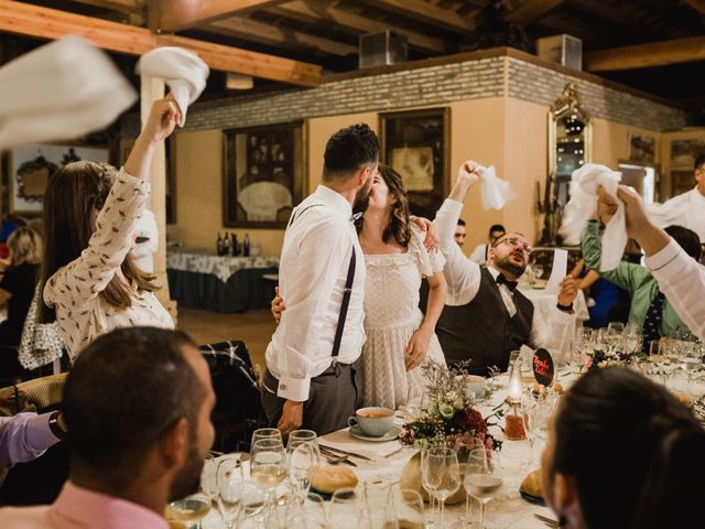 La boda de Alberto y Laura en Ayllon, Segovia 150