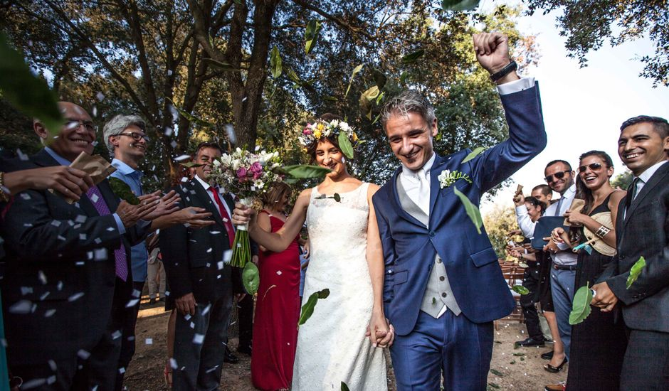 La boda de Marco y Laura en Argentona, Barcelona