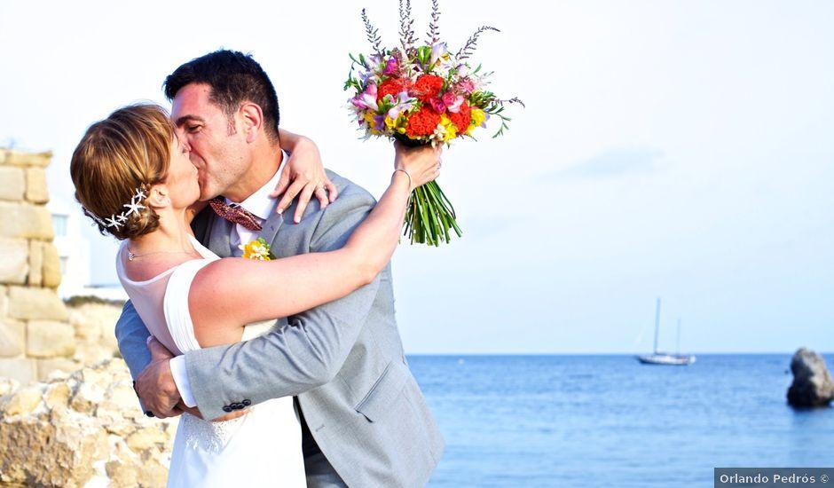 La boda de Fran y Laura en Tabarca, Alicante