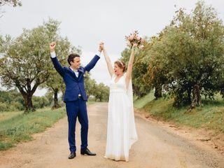 La boda de Hortense y Anthony 1