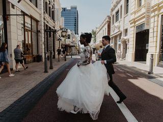 La boda de Nadege y Rafal