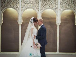 La boda de Janet y David