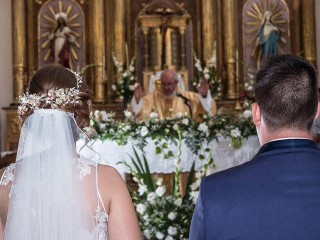 La boda de Sergio y Silvia en Romanones, Guadalajara 17