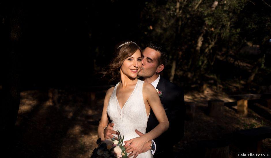 La boda de Cristian y Laura en Sentmenat, Barcelona