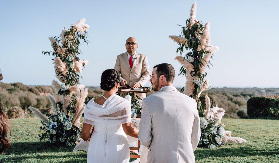 La boda de Toby y Hannah en Alaior, Islas Baleares