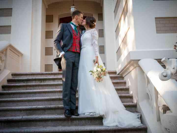 La boda de Marta y Olek