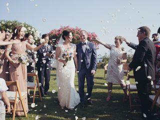 La boda de Ruby y Rob