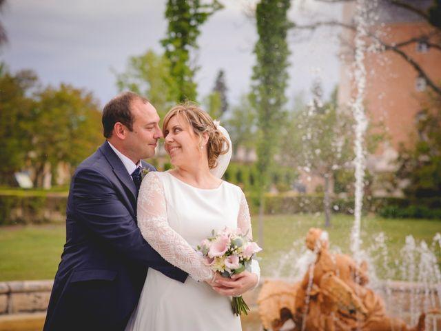 La boda de Arancha Galán  y Javier Beltrán