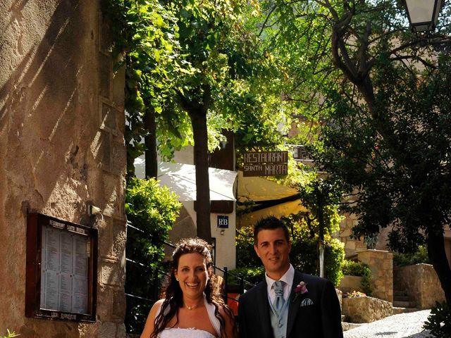 La boda de Guillermo y Olga en Tossa De Mar, Girona 8