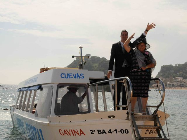 La boda de Guillermo y Olga en Tossa De Mar, Girona 11