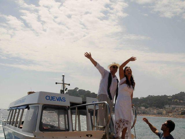 La boda de Guillermo y Olga en Tossa De Mar, Girona 12