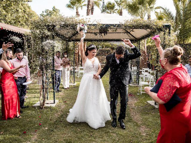 La boda de Javier y Jessica en Otura, Granada 25