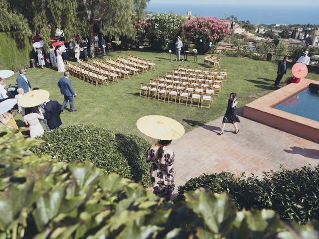 La boda de Rob y Ruby en Sant Vicenç De Montalt, Barcelona 9
