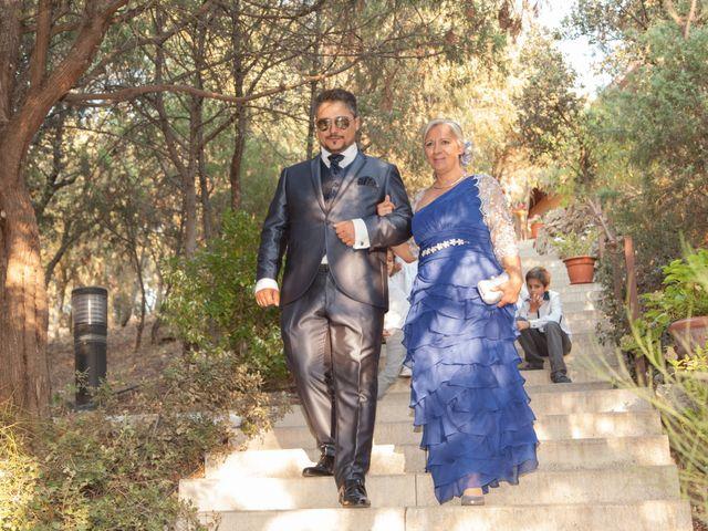 La boda de Jesús y Lovely en San Agustin De Guadalix, Madrid 14