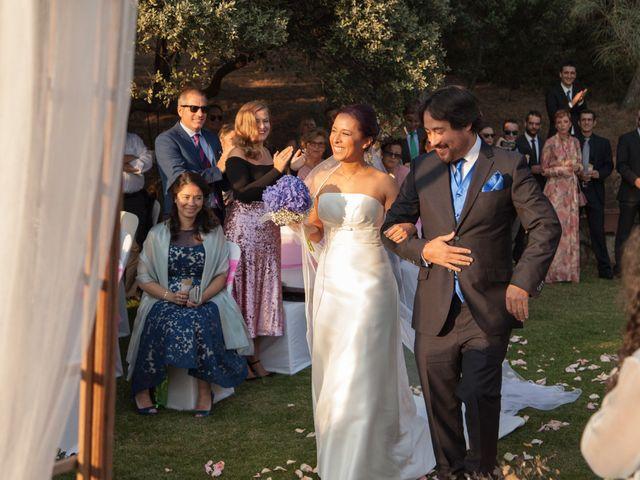 La boda de Jesús y Lovely en San Agustin De Guadalix, Madrid 18