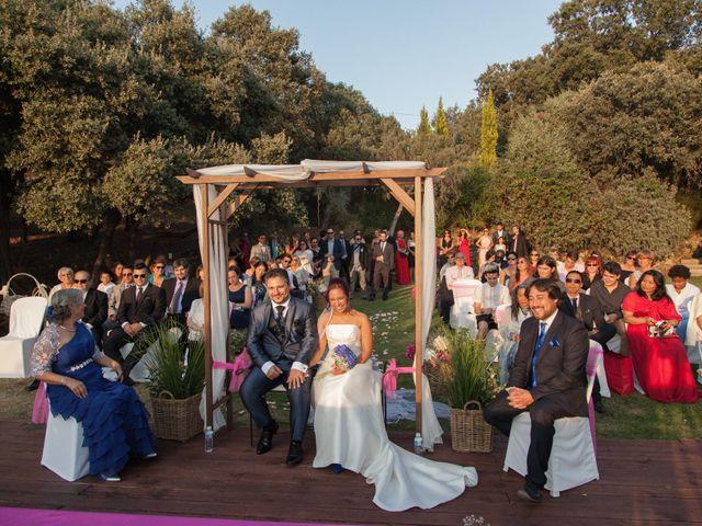 La boda de Jesús y Lovely en San Agustin De Guadalix, Madrid 19