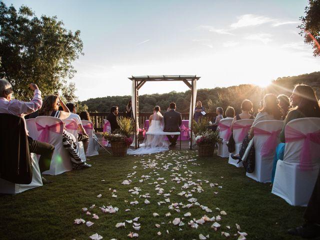 La boda de Jesús y Lovely en San Agustin De Guadalix, Madrid 1