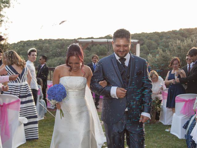 La boda de Jesús y Lovely en San Agustin De Guadalix, Madrid 21